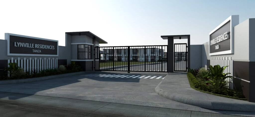 Lynville Residences Tanza Cavite Guardhouse and Gate